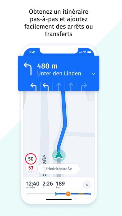 Screenshot #3 pour HERE WeGo Cartes et Navigation
