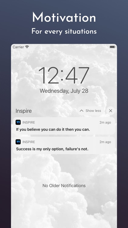 Inspire : Daily Motivation