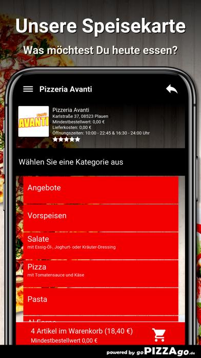 Pizzeria Avanti Plauen screenshot 4