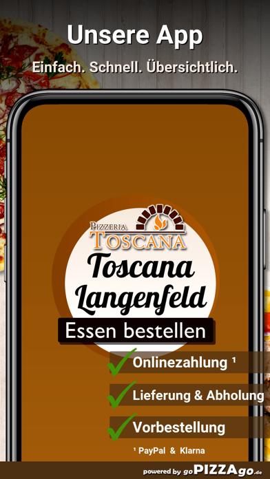 Pizzeria-Toscana Langenfeld screenshot 2