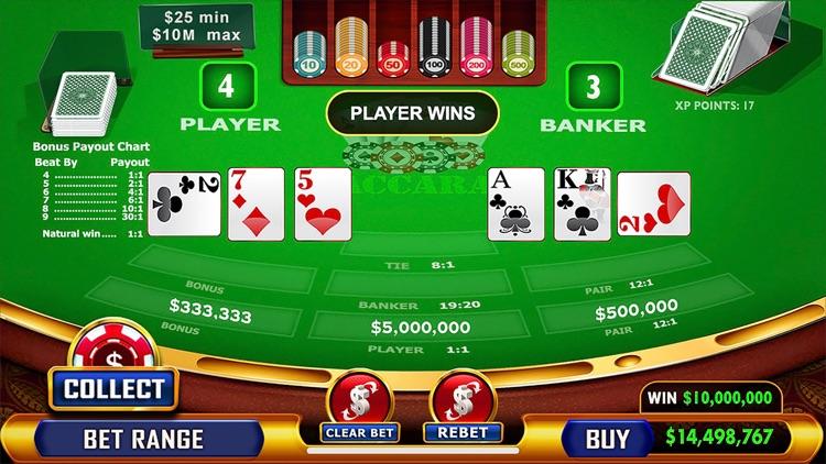 Baccarat - Casino Style screenshot-3