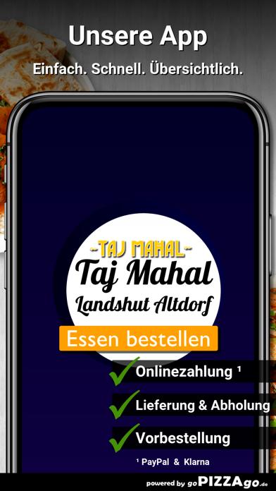 Taj Mahal Landshut Altdorf screenshot 1