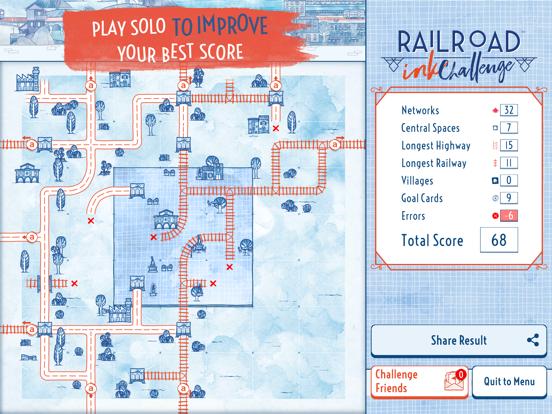 Railroad Ink Challenge screenshot 19