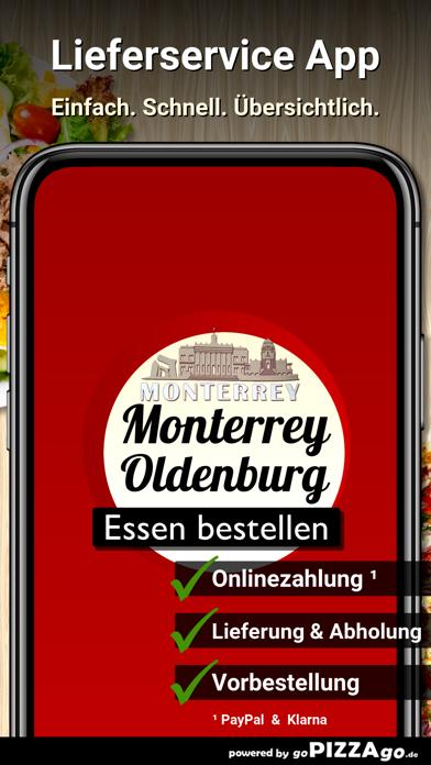 Pizza Monterrey Oldenburg screenshot 1