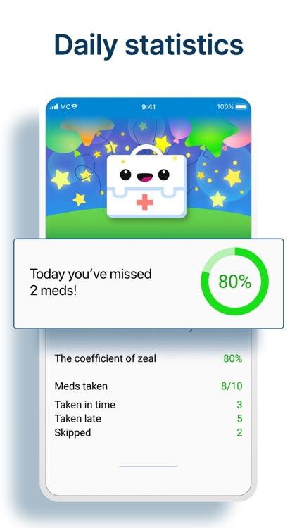Pill Reminder & Health Tracker screenshot-4