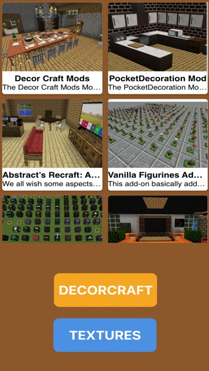 DecorCraft Mod for Minecraft