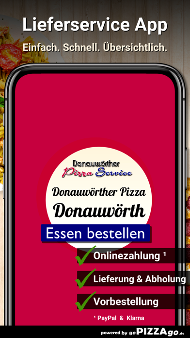 Donauwörther Pizza Donauwörth screenshot 1