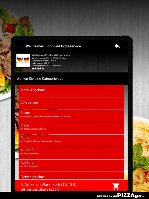 Weilheimer Pizza Weilheim screenshot 8