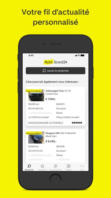 Screenshot #3 pour AutoScout24: marché automobile