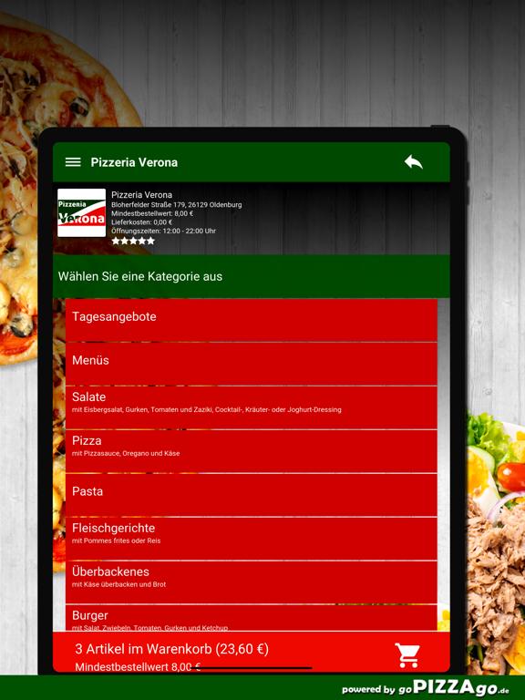 Pizzeria Verona Oldenburg screenshot 8