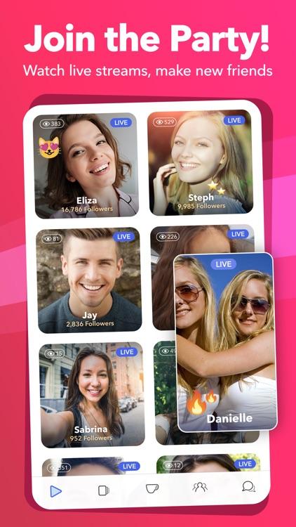 Clover - Live Stream Dating screenshot-0