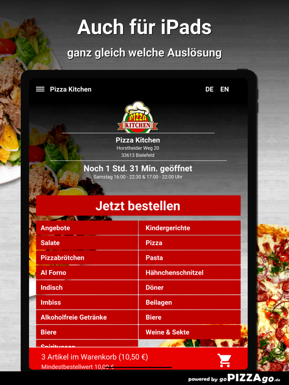 Pizza Kitchen Bielefeld screenshot 7