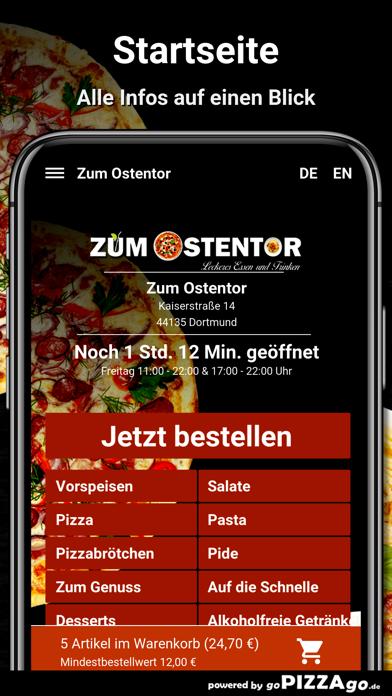 Zum Ostentor Essen bestellen screenshot 2