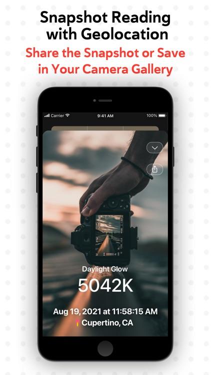 KEV: White Balance Meter screenshot-3