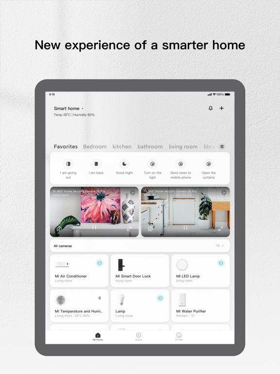 Mi Home - Xiaomi Smart Home ipad ekran görüntüleri