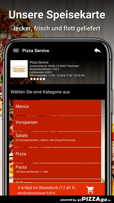 Pizza Service Wertingen screenshot 4