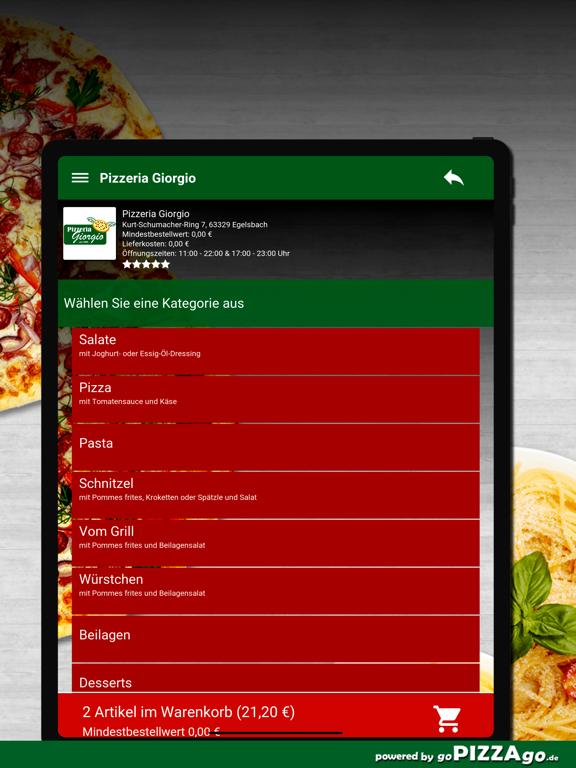 Pizzeria Giorgio Egelsbach screenshot 8