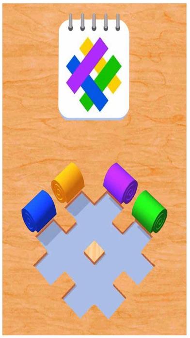 カラーロールスイッチ:パズルを並べ替える紹介画像1