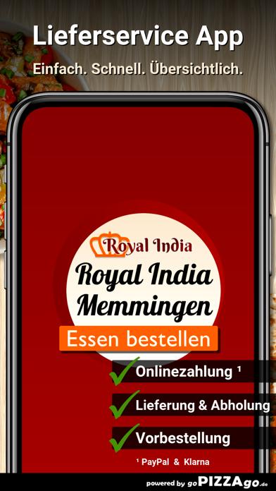 Royal India Memmingen screenshot 1