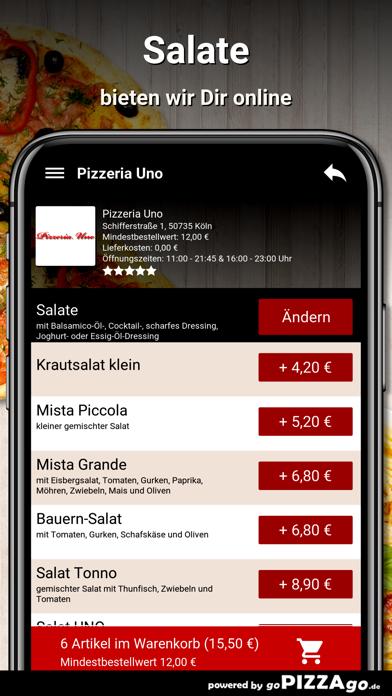Pizzeria Uno Köln screenshot 5