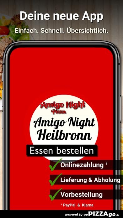 Amigo Night Pizza Heilbronn screenshot 1