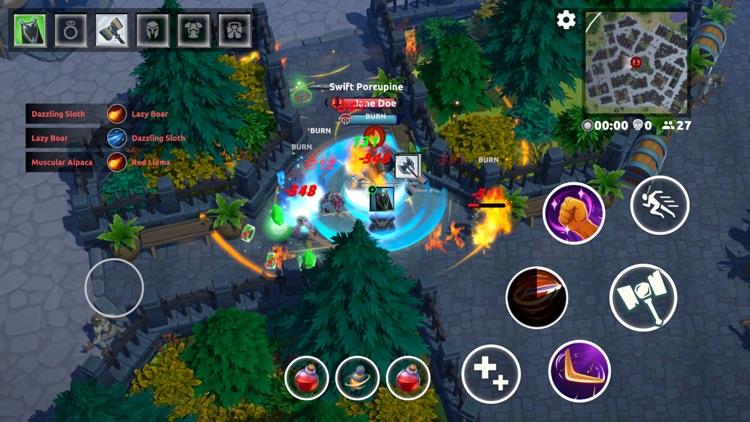 FOG - MOBA Battle Royale Arena screenshot-7
