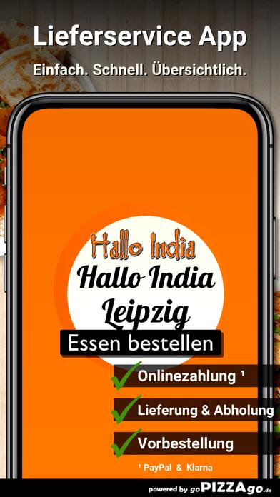 Hallo India Leipzig screenshot 1