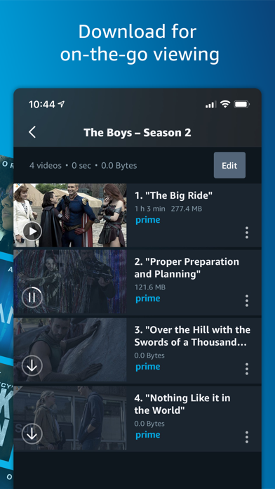 messages.download Amazon Prime Video software