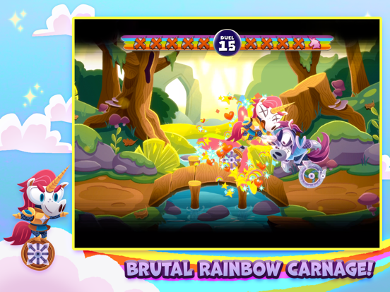 Unicorns on Unicycles screenshot 6