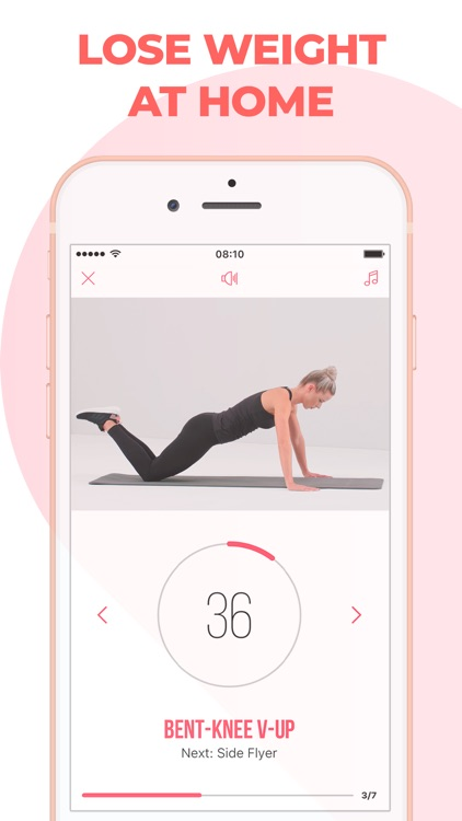 Home Fitness for Weight Loss screenshot-0