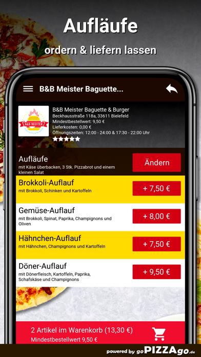 B&B Meister Baguette & Burger screenshot 6
