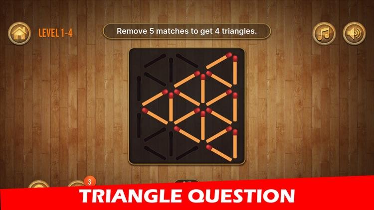 Woody Matchstick Puzzle screenshot-4