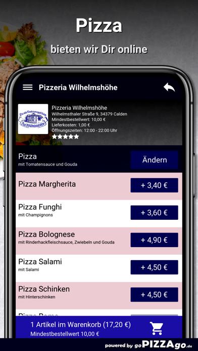 Pizzeria Wilhelmshöhe Calden screenshot 5