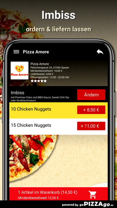 Pizza Amore Speyer screenshot 6