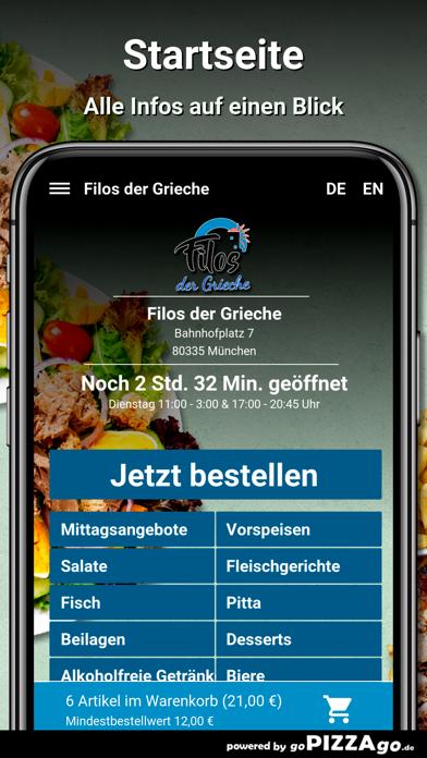 Filos der Grieche München screenshot 3
