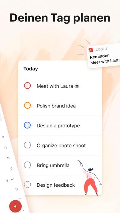 Todoist: To-Do List & AufgabenScreenshot von 2