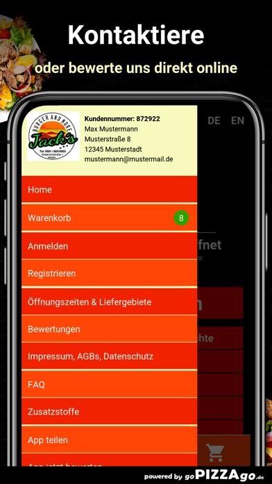 Jacks Burger and More Uelzen screenshot 3