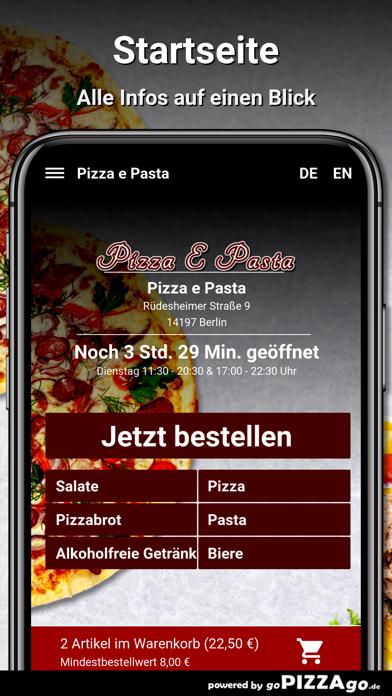 Pizza e Pasta Berlin screenshot 2