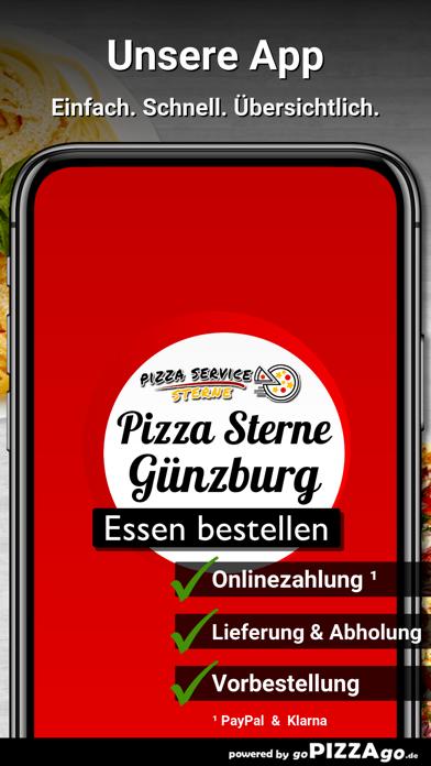 Pizza Service Sterne Günzburg screenshot 1