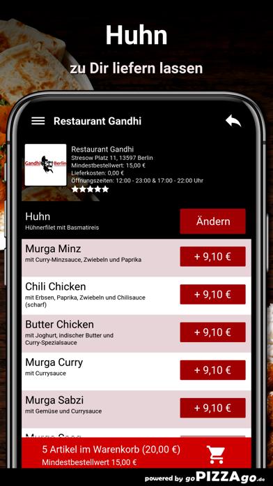 Restaurant Gandhi Berlin screenshot 5