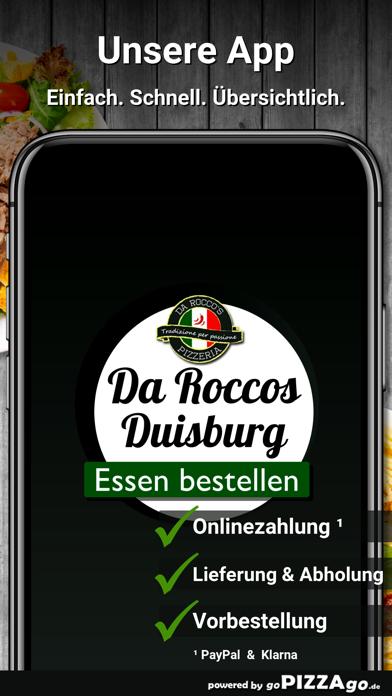 Pizzeria da Roccos Duisburg screenshot 1