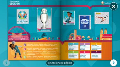 Álbum Cromos Panini EURO 2020Captura de pantalla de1