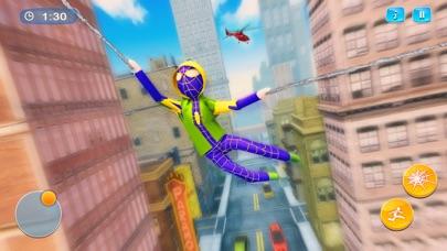クモ 棒人間- ロープ ヒーロー 3D紹介画像3