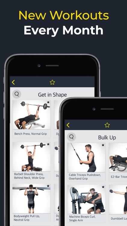Workout: Gym workout planner screenshot-4