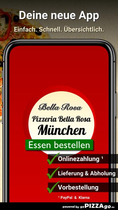 Pizzeria Bella Rosa München screenshot 1