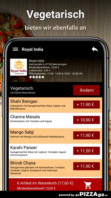 Royal India Memmingen screenshot 6