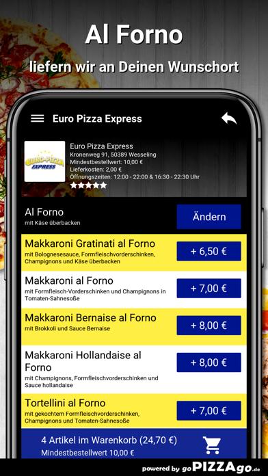 Euro Pizza Express Wesseling screenshot 6