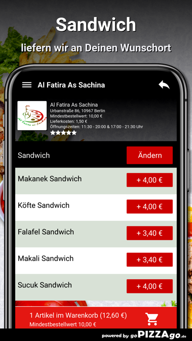 Al Fatira As Sachina Berlin screenshot 6