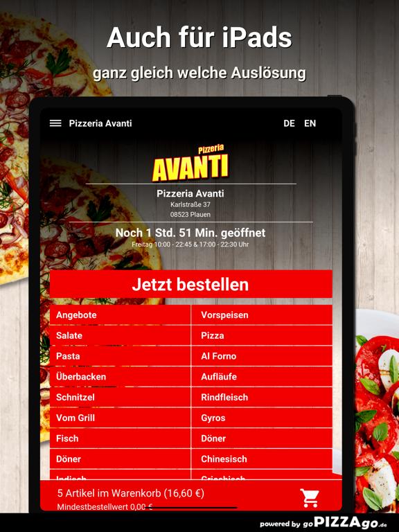 Pizzeria Avanti Plauen screenshot 7