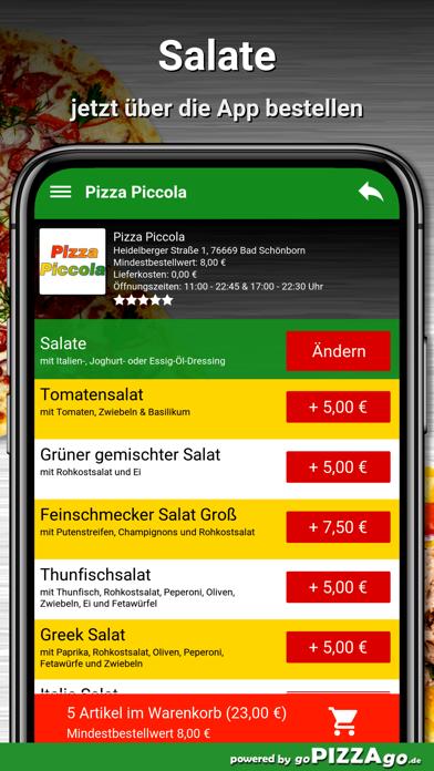 Pizza Piccola Bad Schönborn screenshot 5